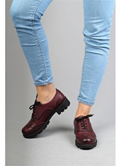 Modabuymus Modabuymus Hakiki Deri Oxford Bayan Ayakkabı